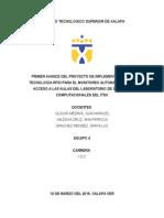 Primer Avance Proyecto Integrador RFID