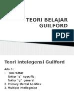 Teori Belajar Guilford