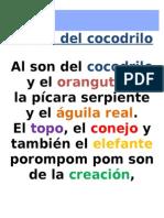 Al Son Del Cocodrilo.letra