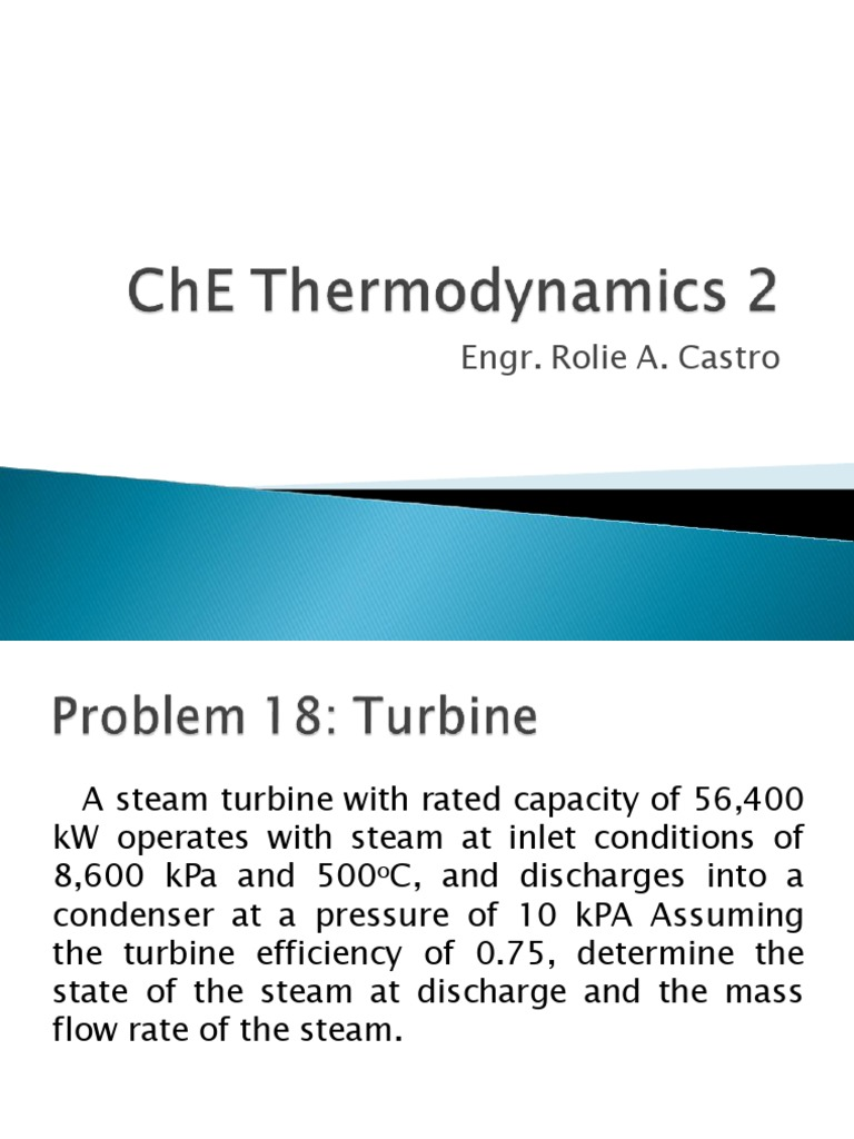 Thermo 2 | Steam Engine | Gas Compressor