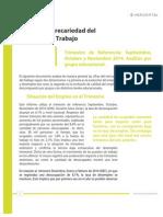 HORIZONTAL Precariedad Del Mercado Del Trabajo, CHILE 2014