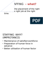 Mgt Function- Staffing