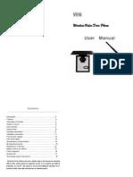 PST-WVD218 User Manual