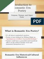 romantic poetry - introduction to romantic era poetry