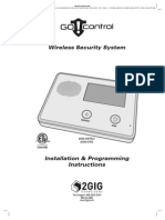 2GIG Go!Control - Installation and Programming Guide (Archive)