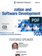 Agile Gov't Virtual Event presentation - Virtualization and Software Development