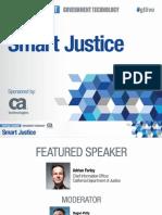 Agile Gov't Virtual Event presentation - Smart Justice