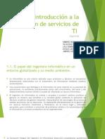 estrategias de gestion de servicios de ti