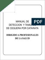 Manual de Deteccion y Tamizaje de Ceguera