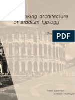 Rethinking Typology of Stadium Typology- Thesis Literature Review