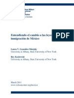 Entendiendo El Cambio de Las Leyes en Mexico