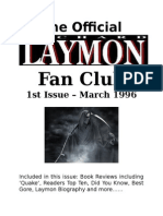 Richard Laymon Fan Club 1