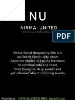 Nirma Social Networking Website