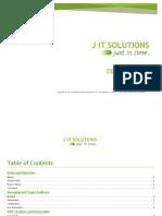 JIT Solutions Design Brief