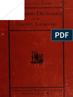 A Phonetic Dictionary of the English Language
