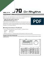 DR-670 DR.RHYTHM  BOSS