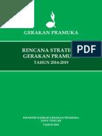 RENSTRA Gerakan Pramuka 2014-2019