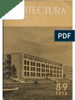 111484861 Arhitectura R P R Nr 8-9-1958 August Septembrie
