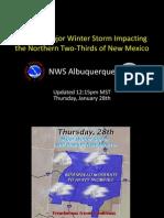 Weather service forecast slideshow 1.28.10