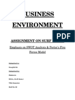 Business Environment - Surf Excel - Shaheera