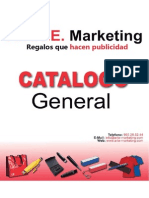 Catálogo General ARTE Marketing