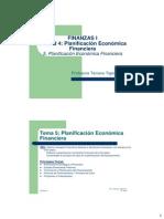 Planificación Económica Financiera