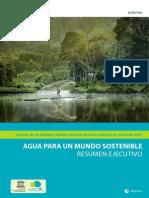 Informe de las Naciones Unidas sobre los Recursos Hídricos en el Mundo 2015