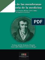 La Teoria de Las Membranas en La Historia de La Medicina