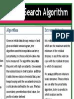 Data Search Algorithm