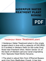Haiderpur Water Treatment Plant