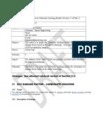 Scc Damage Factor – Carbonate Cracking