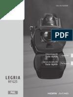 Legria Hf g25 Quick Guide Es Pt
