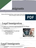 immigrant presentation