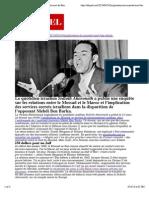 Les détails sur l'implication du Mossad dans la mort de Ben Barka | Telquel.ma