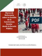 Marco de Referencia Sobre La Gestión de La CONVIVENCIA ESCOLAR Desde La Escuela Pública