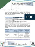 SOLUCION Actividad de Aprendizaje Unidad 1-La Normalizacion de Una Organizacion