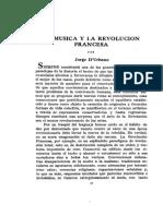 La Musica y La Revolucion Francesa