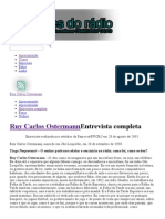 Entrevista Completa _ Vozes Do Rádio - RUY CARLOS OSTERMAN