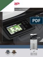 MX 2615N 3115N Brochure PDF