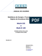 Manual Do Usuario - Medidor de Energia e Transdutor Digital de Grandezas Mult-K - (Rev 4.4)