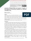 Attitudes Towards Police in Canada 2012