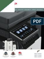 MX  2640 3140 3640N Brochure PDF