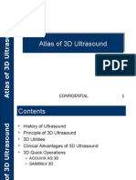 Atlas of 3D Ultrasound