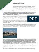 Alquiler Turismo Aeropuerto Menorca