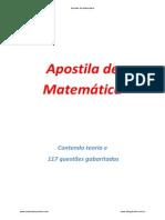 Apostila Matematica Cesgranrio - Apostila Completa Cesgranrio
