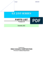 Parts List EZ