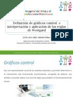 Definición de Gráficos Control e Interpretación y Aplicación de Las Reglas de Westgard