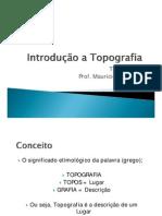1Introdução a Topografia