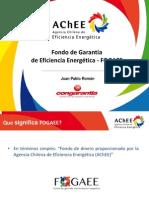 FOGAEE Como Instrumento de Financiamiento de EE a Las PYMES. Juan Pablo Román