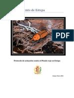 Protocolo de Actuación Contra El Picudo Rojo en Estepa